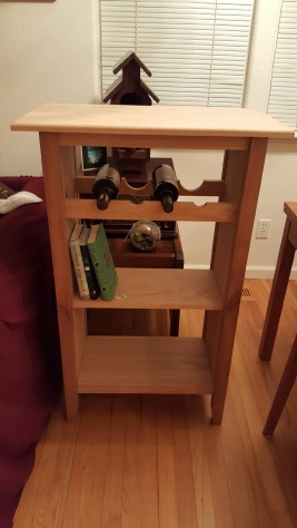Bookshelf Wine Rack