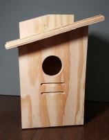 Plywood Birdhouses