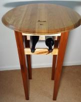 High Top Wine Barrel Table