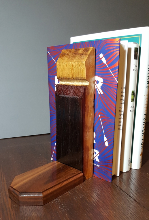 Wine Stave Bookend
