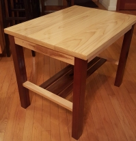 Poplar End Table