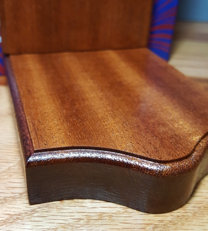 Mahogany Bookend