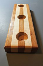 Cherry & Maple Candle Holder