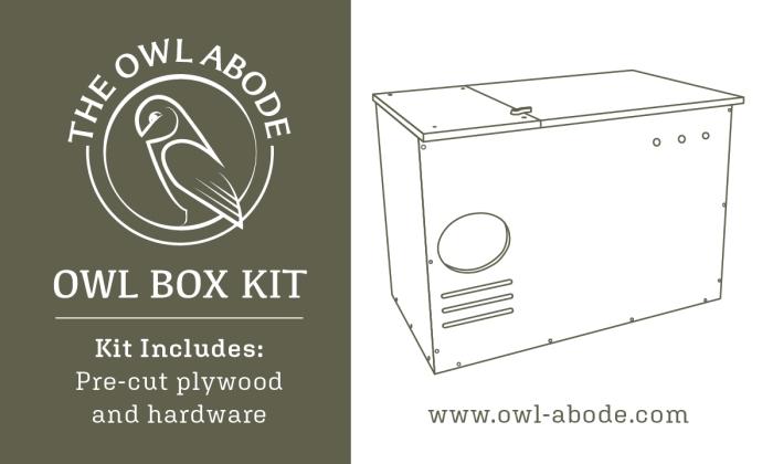 Owl Abode label