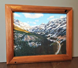 Reclaimed Redwood Picture Frame